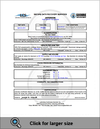 Class 10 ISO 4 Cleanroom Report Page 3
