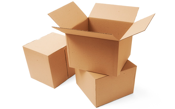 Use a sturdy cardboard box