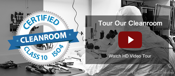 Data Recovery Clean Room Tour