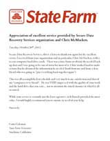 Corie Coleman Secure Data Recovery Services Testimonial